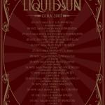 Liquid Sun tour poster 2007
