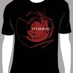 """Hybrid """"Chaos"""" T Shirt"""