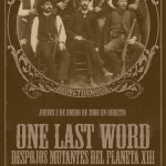 One Last Word poster 2006
